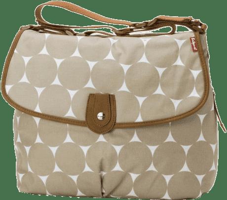 BABYMEL Prebaľovacia taška Satchel Jumbo Dot Fawn | Feedo.sk