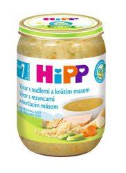 HIPP BIO Vývar s nudlemi a krůtím masem (190 g)