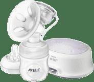 AVENT elektronická odsávačka materského mlieka Natural + zásobník 125 ml