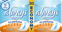 ALWAYS Ultra DUO Normal Plus (20 szt.) - Podpaski (Premium klub)