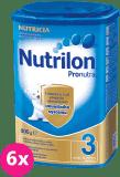 6x NUTRILON 3 ProNutra (800g) - kojenecké mléko