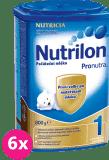 6x NUTRILON 1 ProNutra (800g) - dojčenské mlieko