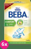 6x NESTLÉ BEBA Comfort 1 (600 g) - kojenecké mléko