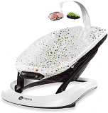 4MOMS Lehátko bounceRoo plush – multicolor