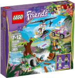 LEGO® FRIENDS Záchrana na moste v džungli