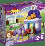 LEGO® DUPLO Princezná Sofia I. – Kráľovské stajne