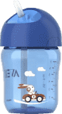 AVENT Hrneček s brčkem 260 ml - modrá