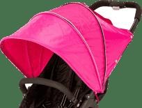 VALCO Bouda pro kočárek Snap 4 Duo, růžová