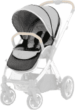 BABYSTYLE OYSTER 2/MAX Colour pack k sedací části kočárku, pure silver (2017)