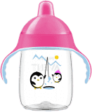 AVENT Hrneček pro první doušky Premium 340 ml – růžová