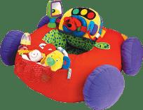 K´s Kids Veľké látkové elektronické auto Go go