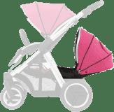 BABYSTYLE OYSTER MAX Kočárek Lie-Flat Tandem colour pack, wow pink (2017)
