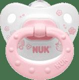 NUK Dudlík Classic růžový, silikon, vel.1 (0-6m.)