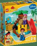 LEGO DUPLO Jake a piráti zo Zeme Nekrajiny: Ostrov pokladov