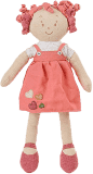 BABY ONO Hračka panenka Lily oranžová 37cm