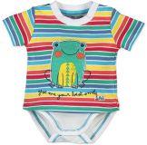 BOBOLI Body krátký rukáv s tričkem, vel. 68 cm - potisk, kluk