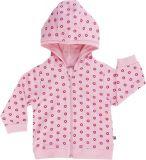 JACKY Mikina s kapucí Baby Girl, vel. 80 - růžová, holka