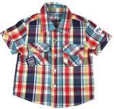 BOBOLI Košile kostka, vel. 92 cm - potisk, kluk