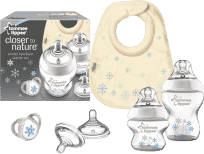 Tommee Tippee Sada dojčenských fľaštičiek C2N Snowflake HIT MESIACA