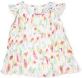 BOBOLI Společenské šifonové šaty, vel. 92 cm - potisk, holka