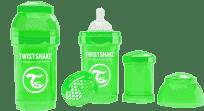 TWISTSHAKE Antikoliková láhev 180ml Zelená