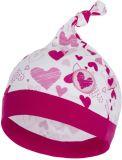 G-MINI Premium Čepice Myška a srdíčka C (38 cm) - růžová