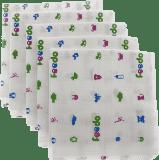 FEEDO Látkové plienky, 100% bavlna, 5ks - 70x70cm (Feedo klub)