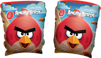BESTWAY Nafukovací rukávky - Angry Birds, 23x15 cm (Premium klub)