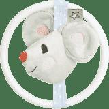 BEBE-JOU Little Mice, hryzátko s plyšovou myškou