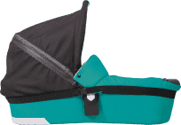 PATRON Amigo Lůžko hluboké se střechou – Smaragd