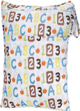 T-TOMI Nepromokavý pytlík, abeceda