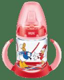 NUK FC Láhev na učení Disney Donald PP 150ml – červená (Premium klub)