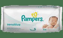PAMPERS Sensitive 56 ks - vlhčené ubrousky (Premium klub)