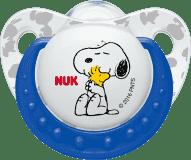 NUK Dudlík Trendline Snoopy, silikon, velikost 2 (6-18m.) - modrý (Premium klub)