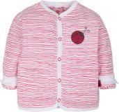 G-MINI Oboustranný kabátek Beruška (vel. 92) - růžová