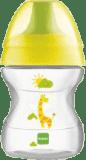 MAM Hrnek na učení LEARN TO DRINK CUP 190ml, 6+ měsíců-žlutá – náhodný motiv