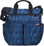 SKIP HOP Přebalovací taška s podložkou Duo Signature - grafity, modrá