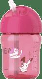 AVENT Hrnček so slamkou 260ml - ružový (Premium klub)