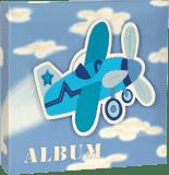 FOTO Album Playful Sky 10x15cm, 200 fotiek  - modrý