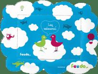 FEEDO ramka magnetyczna Ptaszki - Feedo klub