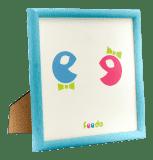 FEEDO dřevěný ručně vyráběný rámeček modrý (Feedo klub)