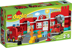 LEGO® DUPLO® Remiza strażacka