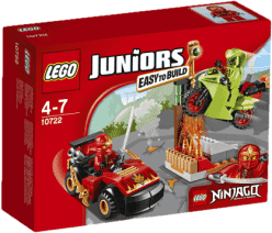 LEGO® Juniors Starcie z wężem