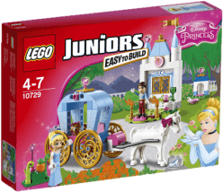 LEGO® Juniors Popoluškin kočiar