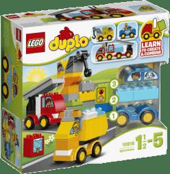 LEGO® DUPLO® Toddler Moje první autíčka a náklaďáky