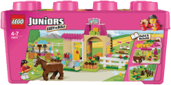 LEGO® Juniors Pony farm (farma z kucykiem)