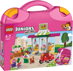 LEGO® Juniors Supermarket – Walizeczka