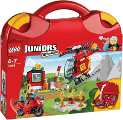 LEGO® Juniors Hasičský kufřík