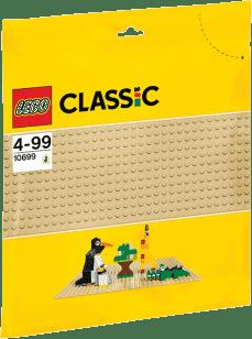 LEGO® Classic Płytka konstrukcyjna – piaskowa