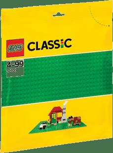 LEGO® Classic Płytka konstrukcyjna – zielona